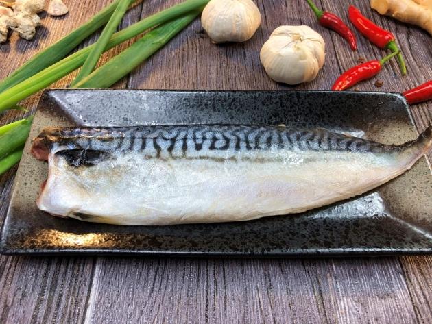 鹽鯖魚片 1